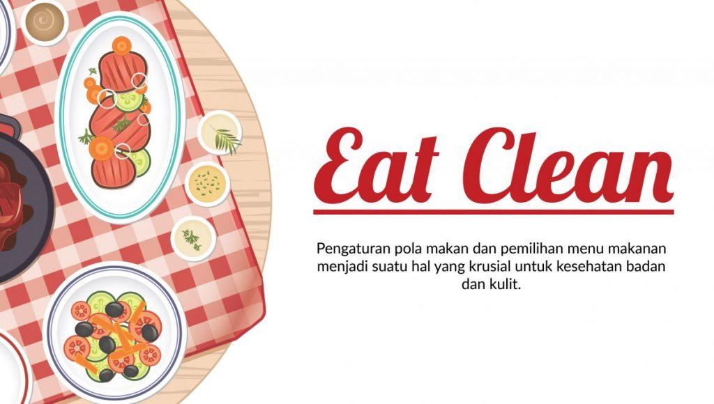 Konsep Eat Clean mulai dari sekarang